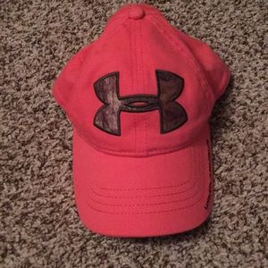 Pink Under Armour Camo hat!